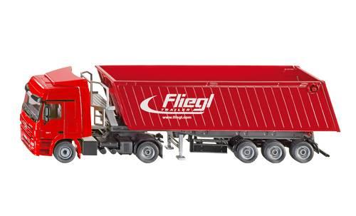 Siku Vrachtwagen met kiepwagen met kantelbak