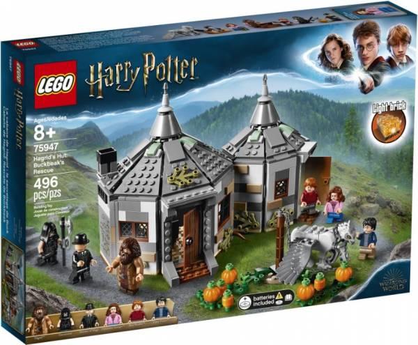 Hagrids huisje: Scheurbeks ontsnapping Lego (75947 )