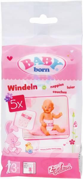 Luiers Baby Born: 5 stuks (826508)