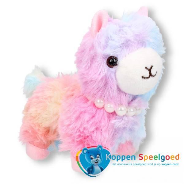 Sleutelhanger pluche alpaca