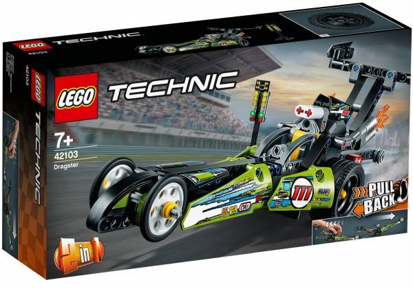 Dragster Lego (42103)