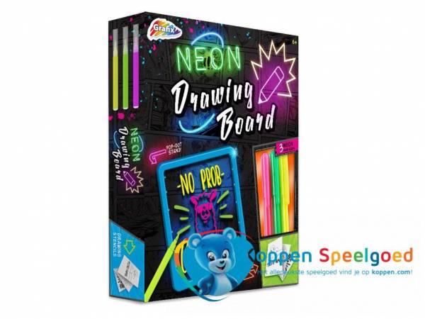 Neon tekenbord
