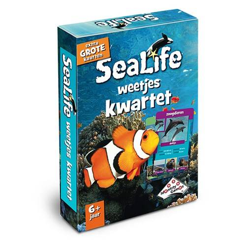 Identity Games, Sealife weetjes kwartet matchbox