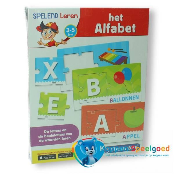 Clementoni Het alfabet 3-5 jaar