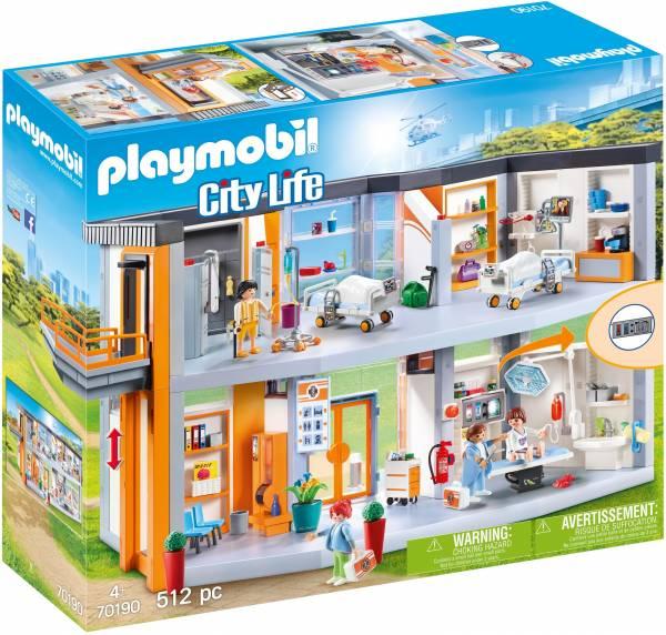 Groot ziekenhuis met inrichting Playmobil (70190)