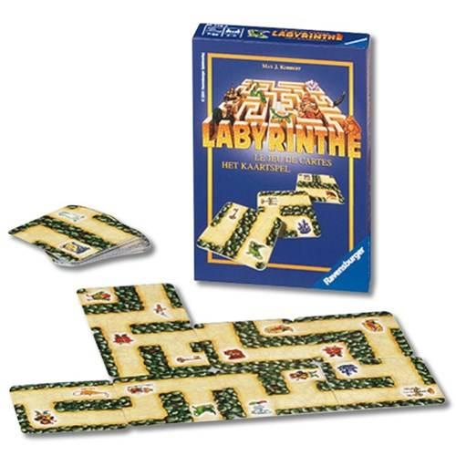 Ravensburger: Reisspel Labyrinthe het Kaartspel