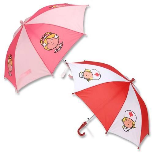 Paraplu met print voor meisjes