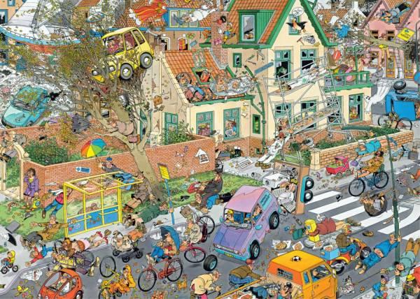 Puzzel JvH: Safari & Storm 2x1000 stukjes (19001)