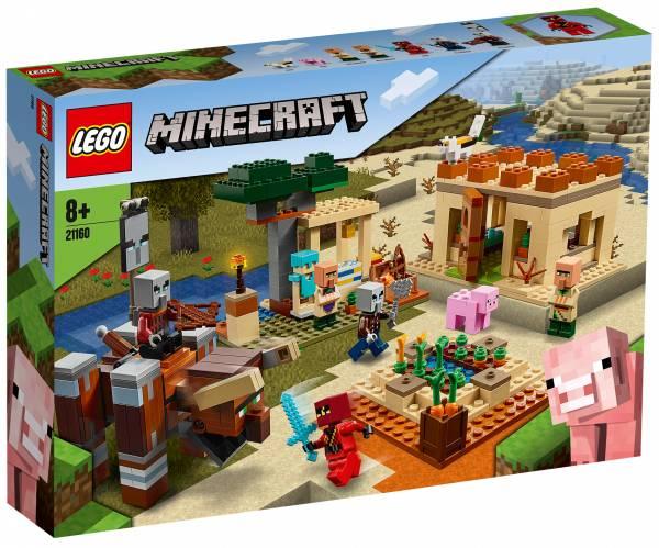 The Illager Raid Lego (21160)