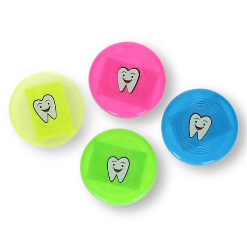Frisbee met tandenprint