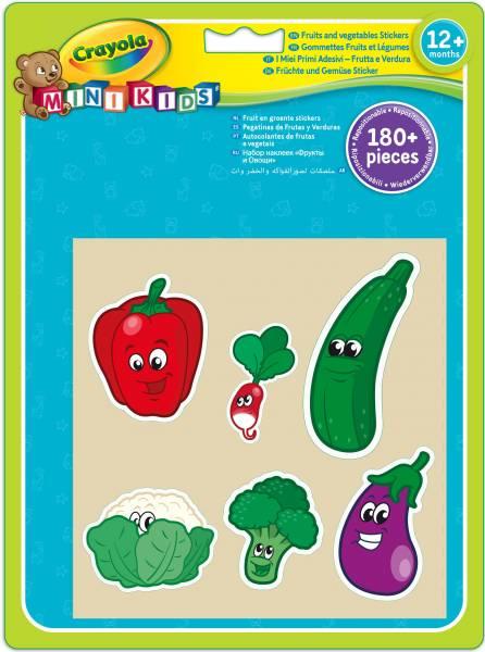 Jumbo Stickers Fruit Crayola (81-2010)