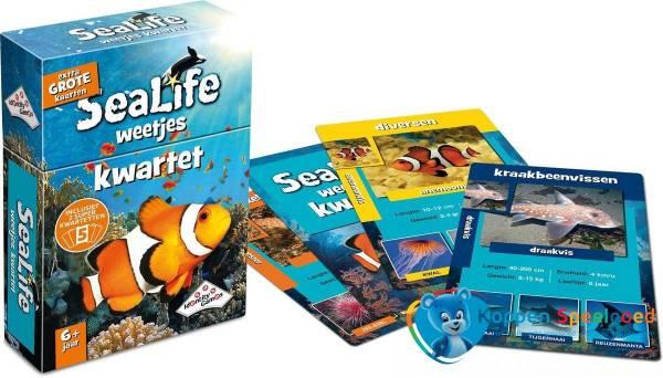 Identity Games, Sealife weetjes kwartet