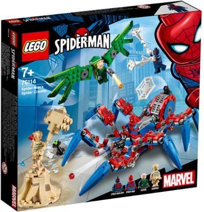 Spidercrawler Spider-Man Lego (76114)
