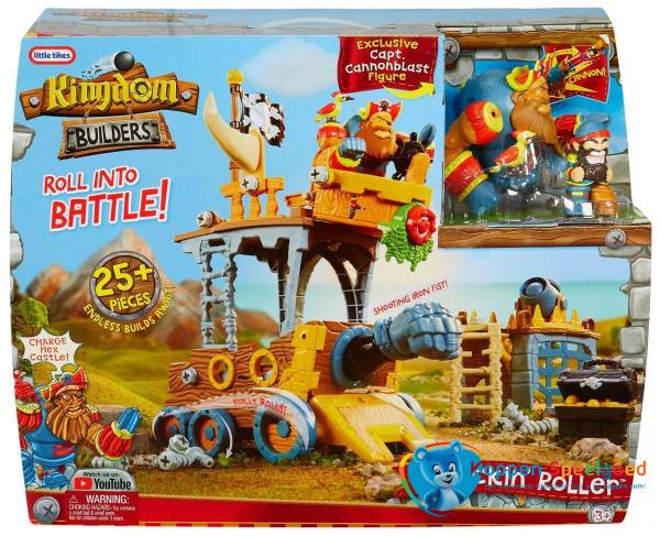 Little Tikes Kingdom Builders Piratenwagen