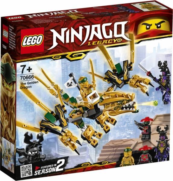 De Gouden draak Lego (70666)