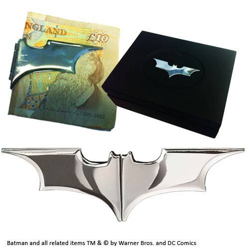 Batarang chromen geldclip