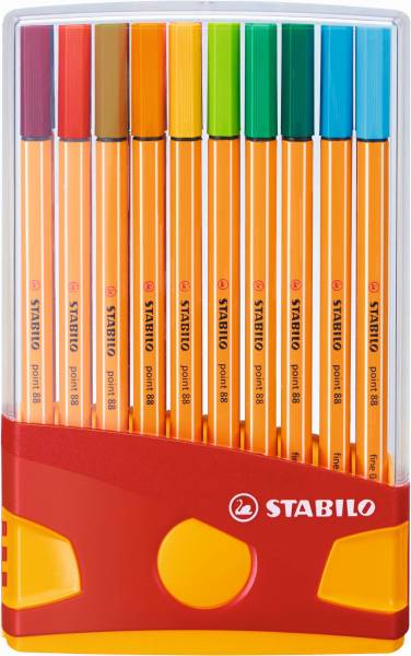 Fineliners Stabilo Point 88 colorparade 20 stuks