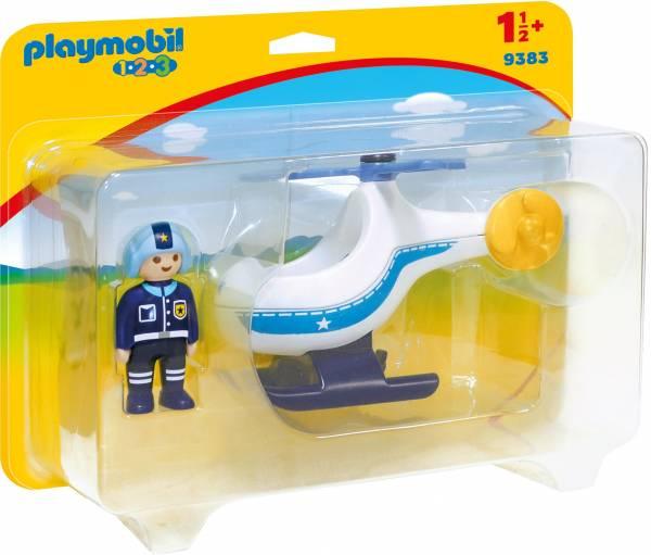 Politiehelikopter Playmobil (9383)