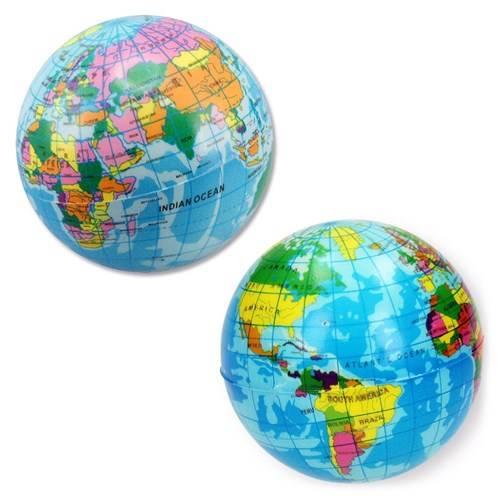 Bal soft wereldbol