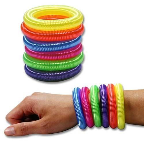 Armband gekleurd uitrekbaar