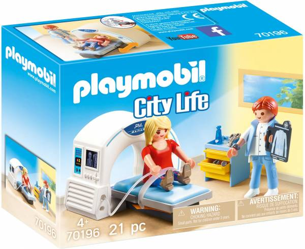 Radiologiekamer Playmobil (70196)