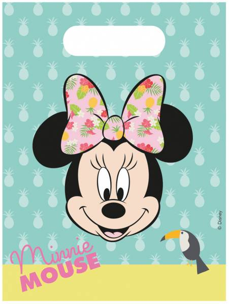 Feestzakjes Minnie Mouse: 6 stuks (89235P)