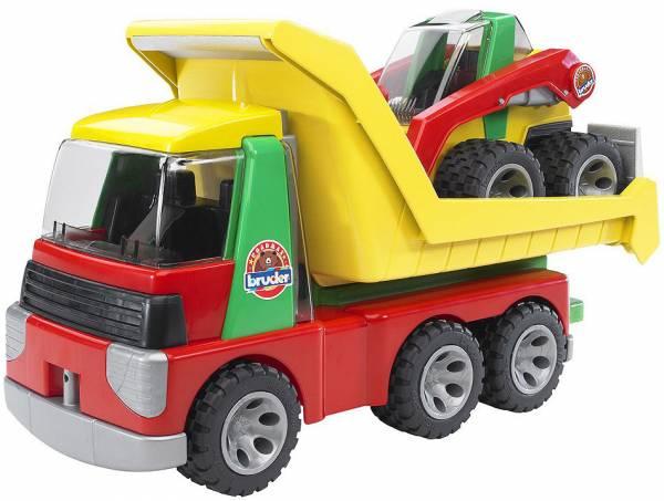 Transporter met voorlader Bruder Roadmax (20070)