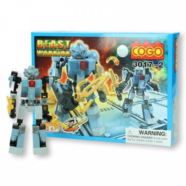 COGO Beast Warrior geel-grijs