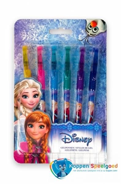 6 Disney Frozen gelpennen