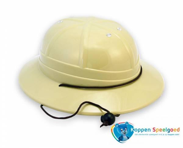 Safari helm, verstelbaar