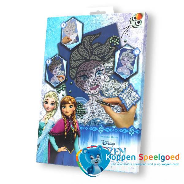 Disney Frozen Elsa pailletten