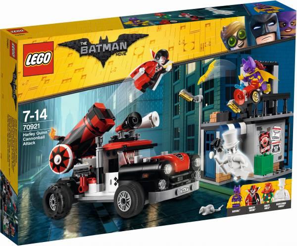 Harley Quinn kanonskogelaanval Lego (70921)