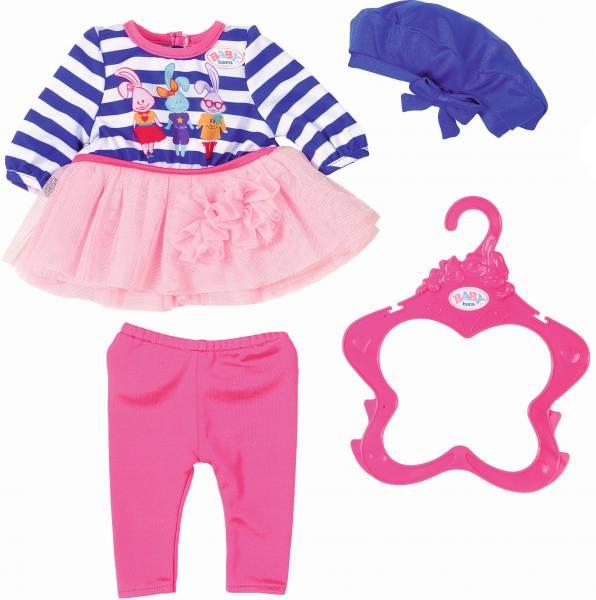 Fashion Collectie Baby Born: blauw/roze (868037/82 4528)