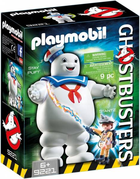 Stay Puft Marshmallow Man Ghostbusters Playmobil (9221)