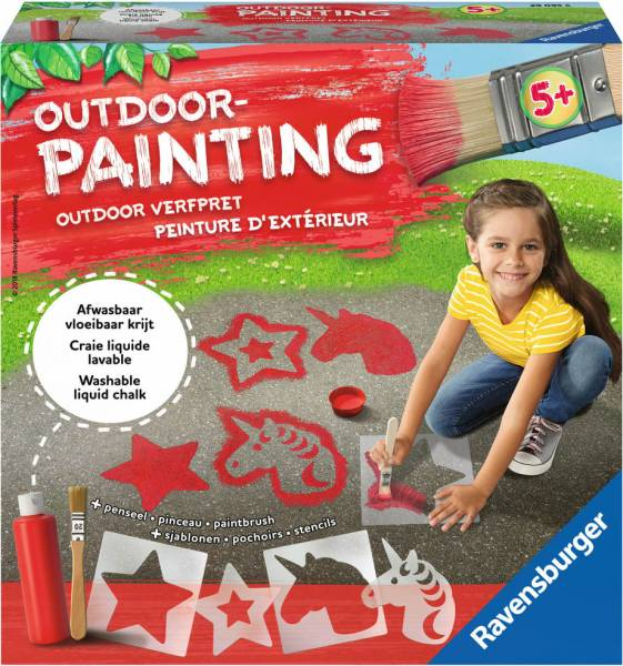 Outdoor Painting: eenhoorn (290956)
