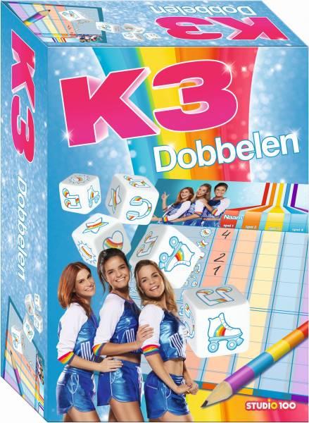 Dobbelspel K3 rollerdisco