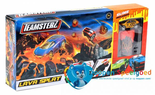 Teamsterz race auto met lava