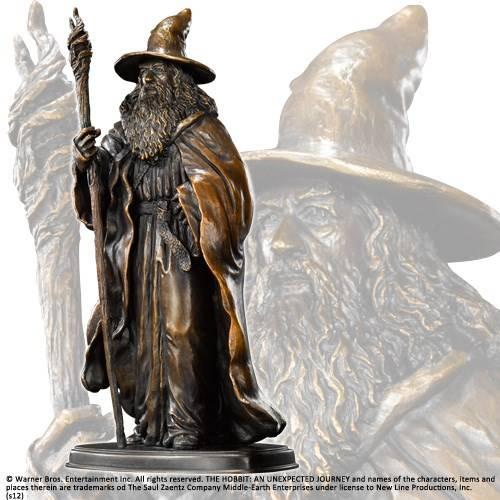 Gandalf bronzen sculptuur