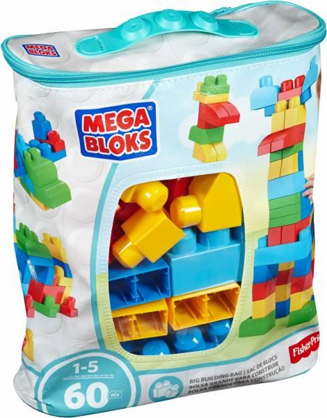 Grote Bouwtas Classic Mega Bloks FB: 60 stuks (DCH 55)