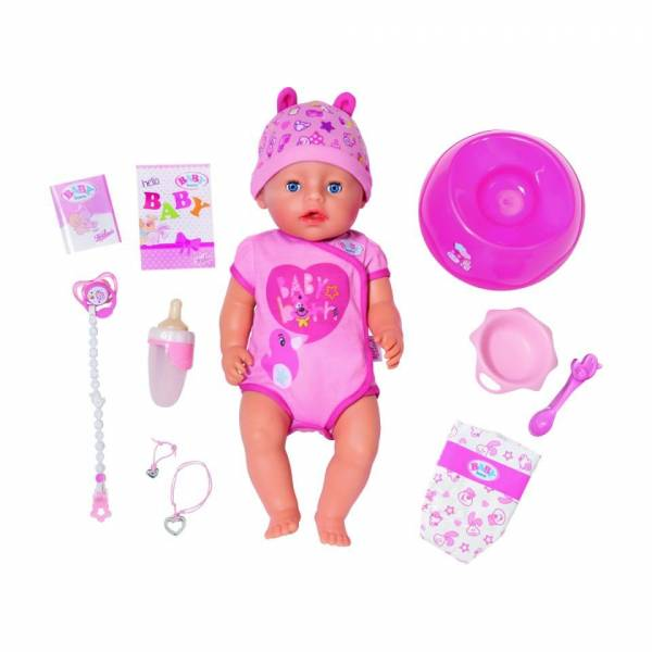Soft Touch Baby Born meisje
