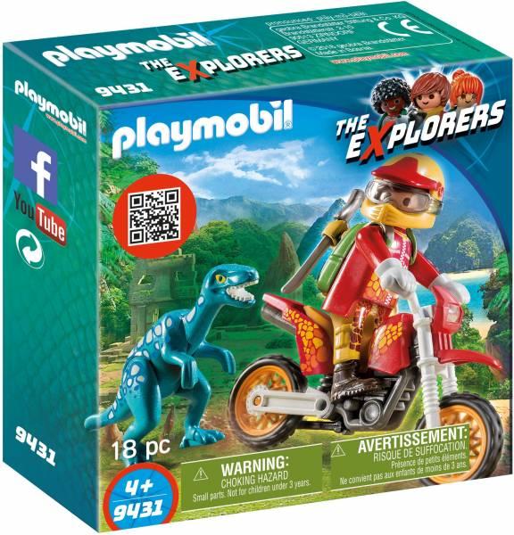 Motorcrosser met Raptor Playmobil (9431)