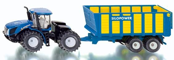 New Holland T9.560 met silagewagen SIKU (1947)