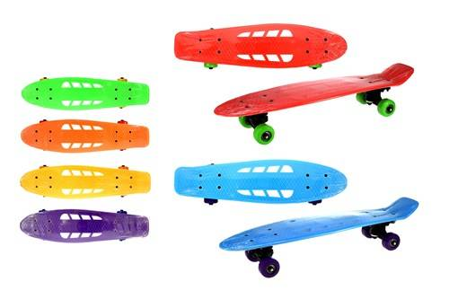 Skateboard met gaten