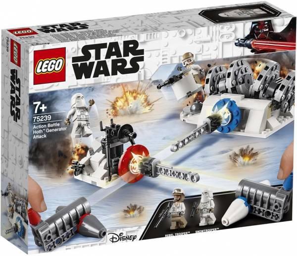 Action Battle Aanval op de Hoth Generator Lego (75 239)