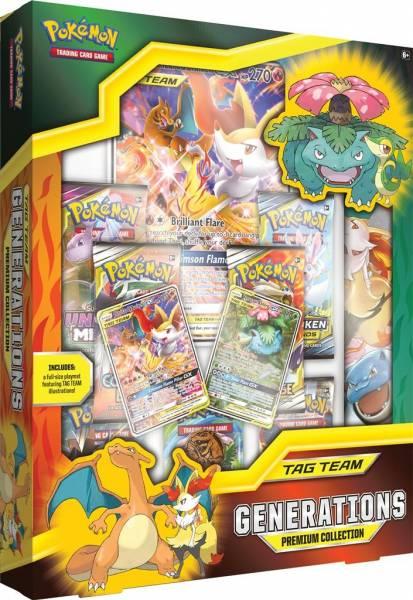 Pokemon GX box: Tag Team Generations