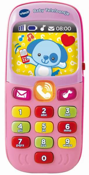 Baby telefoontje roze Vtech: 0+ mnd (80-138152)