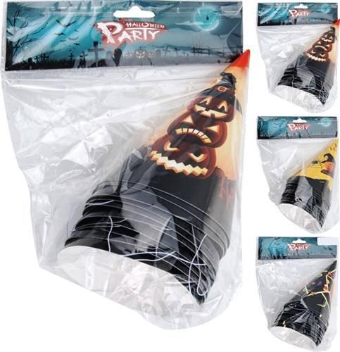 Hoedjes Halloween set 10 stuks