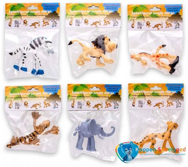 Wilde dieren speelfiguren