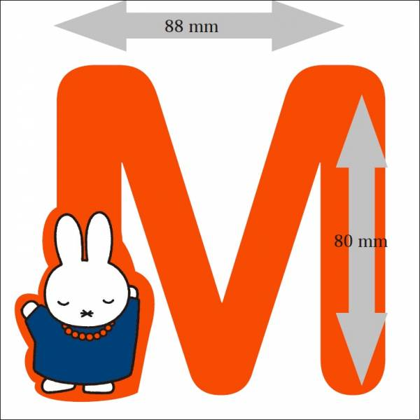 Nijntje Letter: M