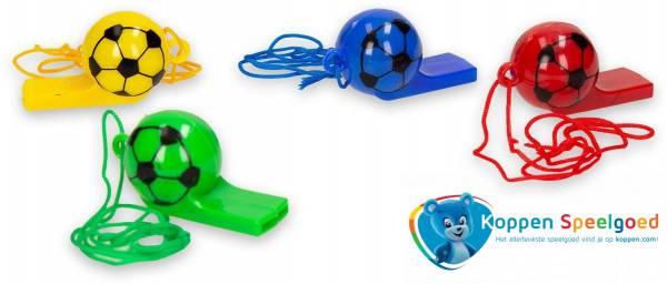 Fluit voetbal met touwtje